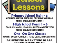 School Lessons Starts March