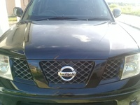 OEM black out navara grill