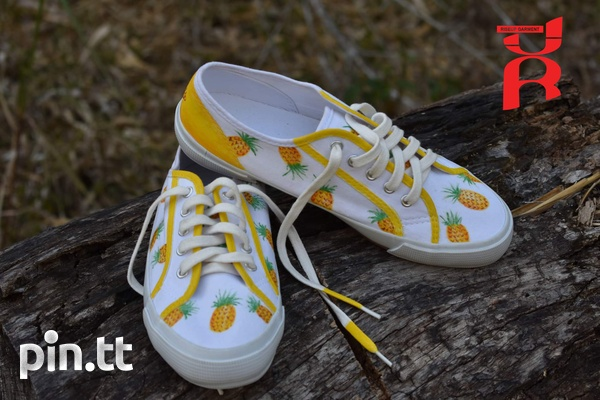 Pineapple Shoes Hand Crafted-2