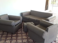 4 Piece Couch Set W/Pillows