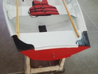 Small boat tender, dinghy, fully equiped