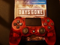 PS4 Controller and Game