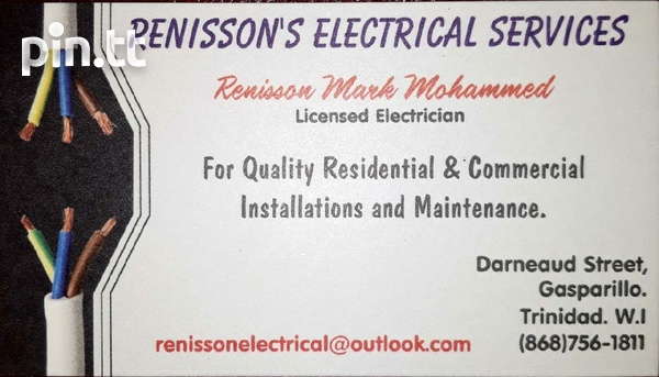 Renisson's Electrical Services-1