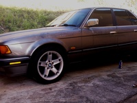 BMW 7-Series, 1992, PBA