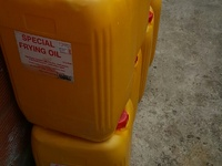 Empty Oil Gallons
