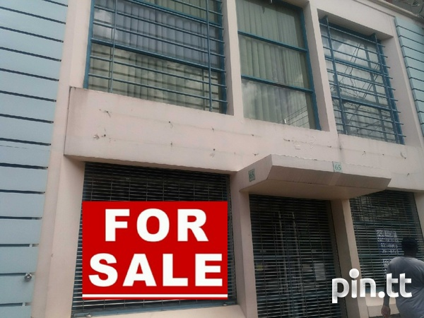 REDUCED 2 Storey Commercial Building Frederick Street, POS-1