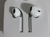 Original iPhone wired headphones and adapter