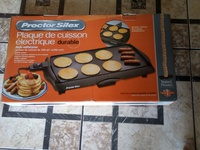 Non stick Proctor Silex electric griddle