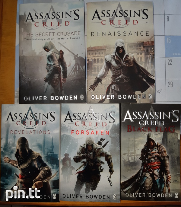 Assassin's Creed books by Oliver Bowden-1