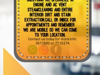 Moore's Auto Steam Cleaning Solutions