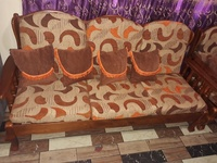 3 piece teak couch set
