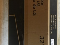 BNIB 32inch LG IPS Monitor With HDR10