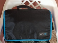 Wii U Console with controller and games