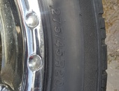 Set of rims and tyres