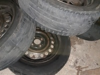 15inch steel rims an tyres close hole