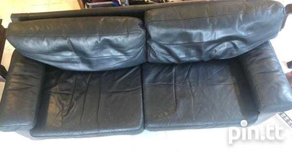 Couch, Genuine Leather-4