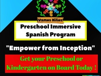 Vamos Niños - Preschool Immersive Spanish Program