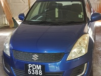 Suzuki Swift, 2013, PDM