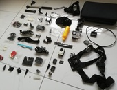 4K Action cam with 50+ pcs