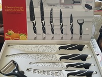 NEW Kitchenware Knife set Antibacterial. IDEAL GIFT