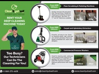 24/7 Cleaning Equipment Rental