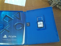 ps vita game and memory card