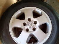 Serena rims and tyres
