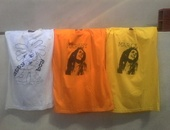 Plain Black, White and Printed Bob Marley and Natty Boy T-Shirts