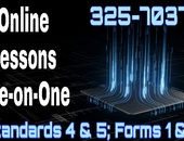 Online Lessons Standards 4 and 5 AND Forms 1 and 2