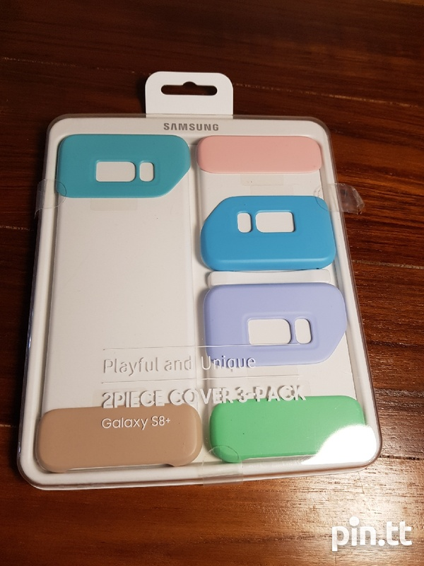 Samsung S8 Plus 2 Piece Cover 3 Pack-1
