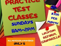 SEA PRACTICE TEST CLASSES AND CREATIVE WRITING CLASSES