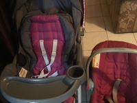 Used Car seat and Stroller Combo