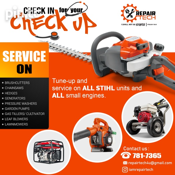 Small Engine Repair and Services - Get your machines fixed in 2-3 days-3