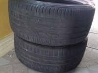 Pair 215/40/17 Continental Tyres