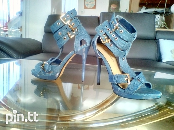 Women's Sophisticated Denim Shoes-2