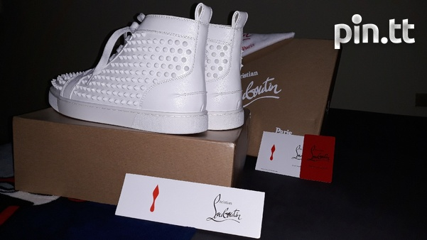 Christian Louboutin Paris Red Bottoms Mens Size 10-5