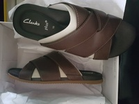 NEW Clarks slippers sandals.
