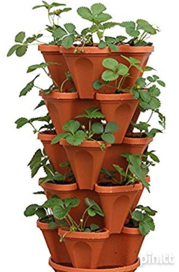 4 Space Stacking Plant Pots-1